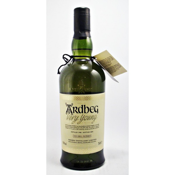 Ardbeg-Very-Young Whisky