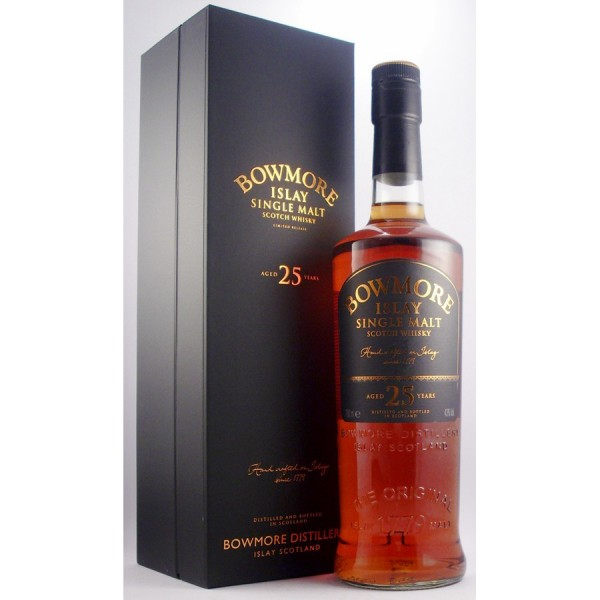 Bowmore-25 year old whisky