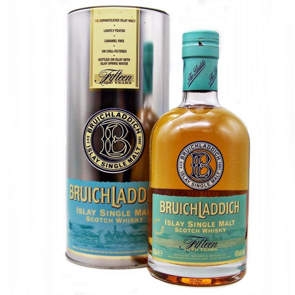 Bruichladdich 15 year old 1st Edition Single Malt Whisky
