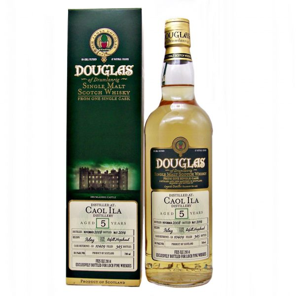 Caol Ila 5 year old Feis Ile 2014 Islay Single Malt Scotch Whisky