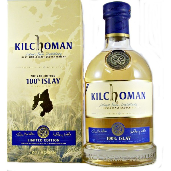 Kilchoman 100% Islay 4th Edition Single Malt Whisky
