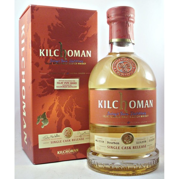 Kilchoman-Pipe-Band Whisky