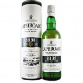 Laphroaig Select Single Malt Scotch Whisky The heart of the spirit is drawn from a final maturation in new American Oak casks buy online at whiskys.co.uk Stamford Bridge York