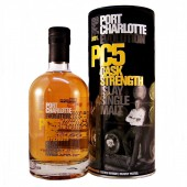 Port Charlotte PC5 heavily peated whisky at Cask Strength available to buy online from specialist whisky shop whiskys.co.uk Stamford Bridge York