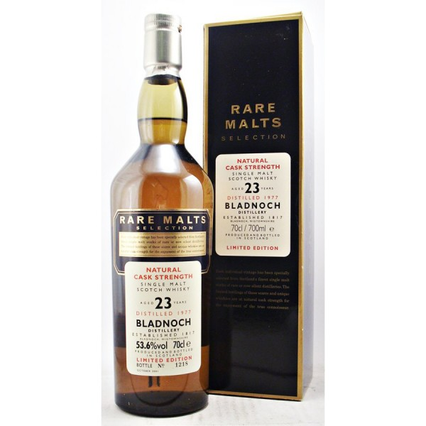 Bladnoch-Rare Malts selection