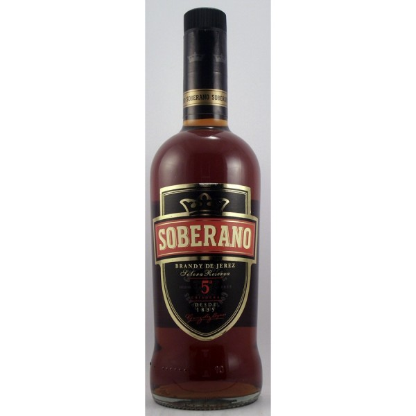 Soberano Solera Reserva Brandy