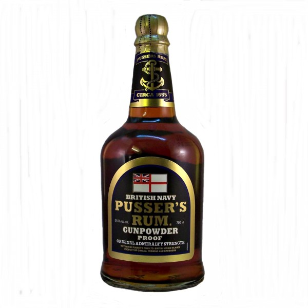 Pussers-Gunpowder Navy Rum