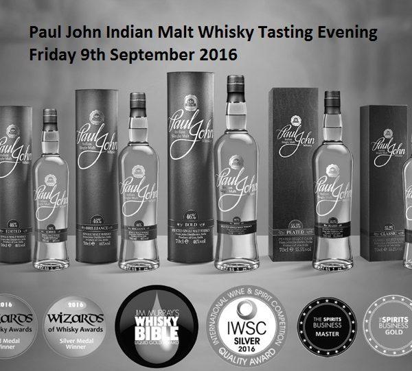 Paul John-whisky awards-banner