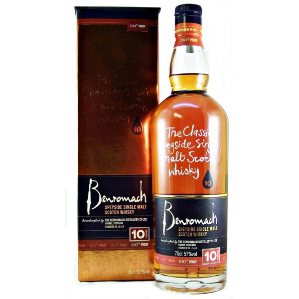Benromach-100-Proof Malt Whisky