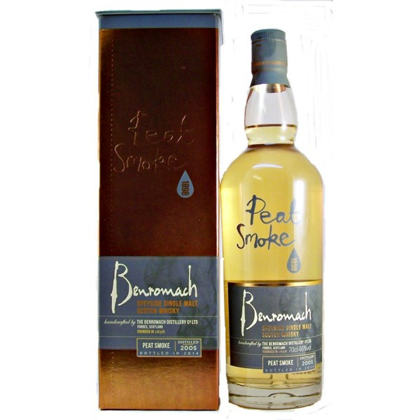 Benromach Peat Smoke Malt Whisky