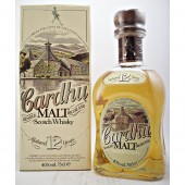 Cardhu 12 year old 1980s Old style packaging from 30 years ago available to buy online at specialist whisky shop whiskys.co.uk Stamford Bridge York