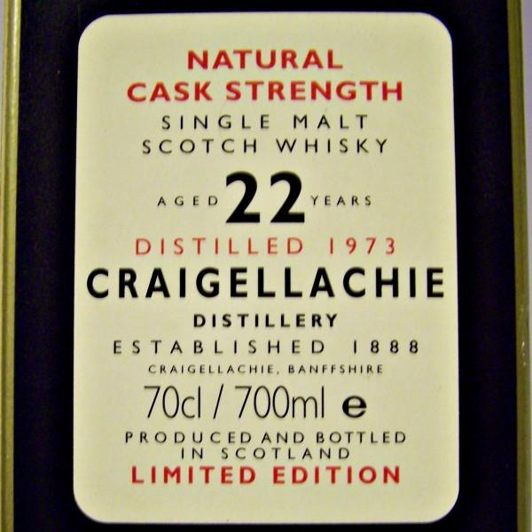 Craigellachie 22 year old