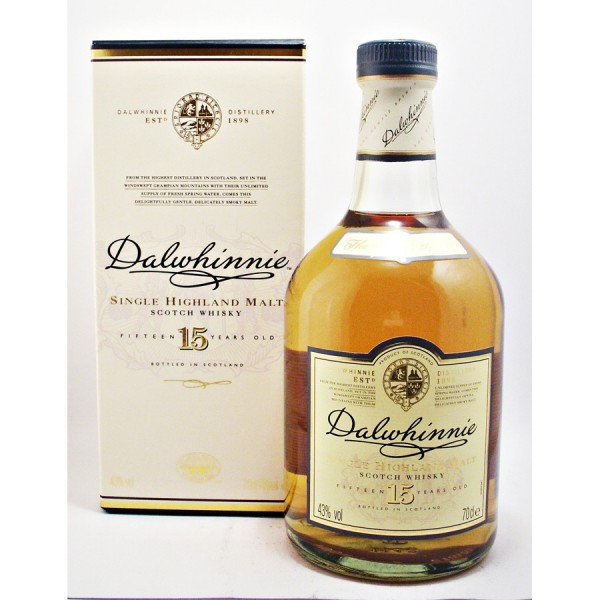 Dalwhinnie-15year old whisky