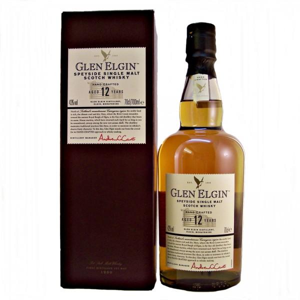 Glen Elgin 12 year old Single Malt Whisky