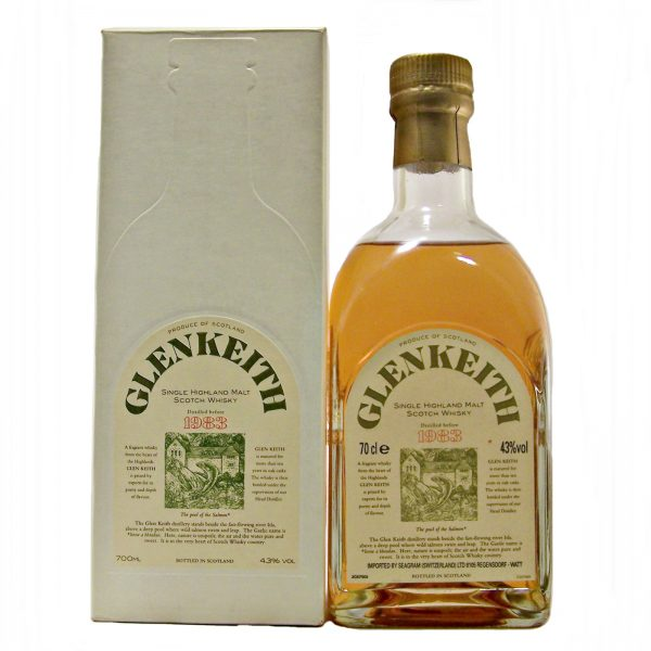 Glen Keith 1983 Single Malt Whisky