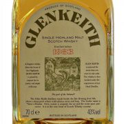 Glen Keith 1983 Single Malt Scotch Whisky