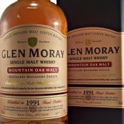 Glen Moray 1991 Mountain Oak Single Malt Whisky