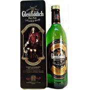 Glenfiddich Clan Sutherland Malt Whisky collectable decorative tin with a glenfiddich pure malt whisky available from whiskys.co.uk