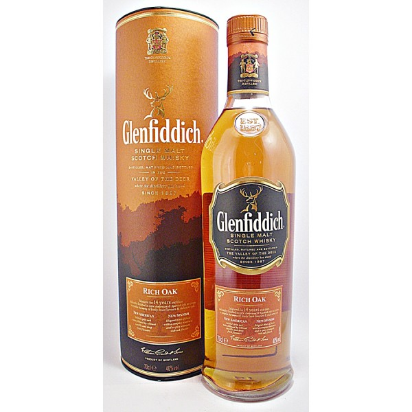 Glenfiddich-Rich-Oak Malt Whisky