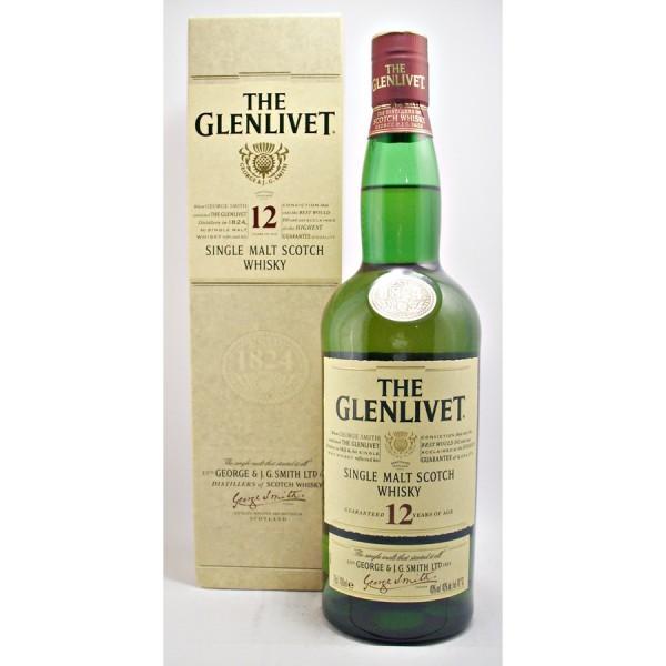 Glenlivet-12 Malt Whisky