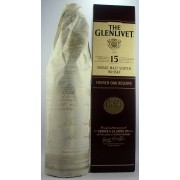 Glenlivet 15 year old French Oak Reserve Single Malt Whisky available to buy online from specialist whisky shop whiskys.co.uk Stamford Bridge York