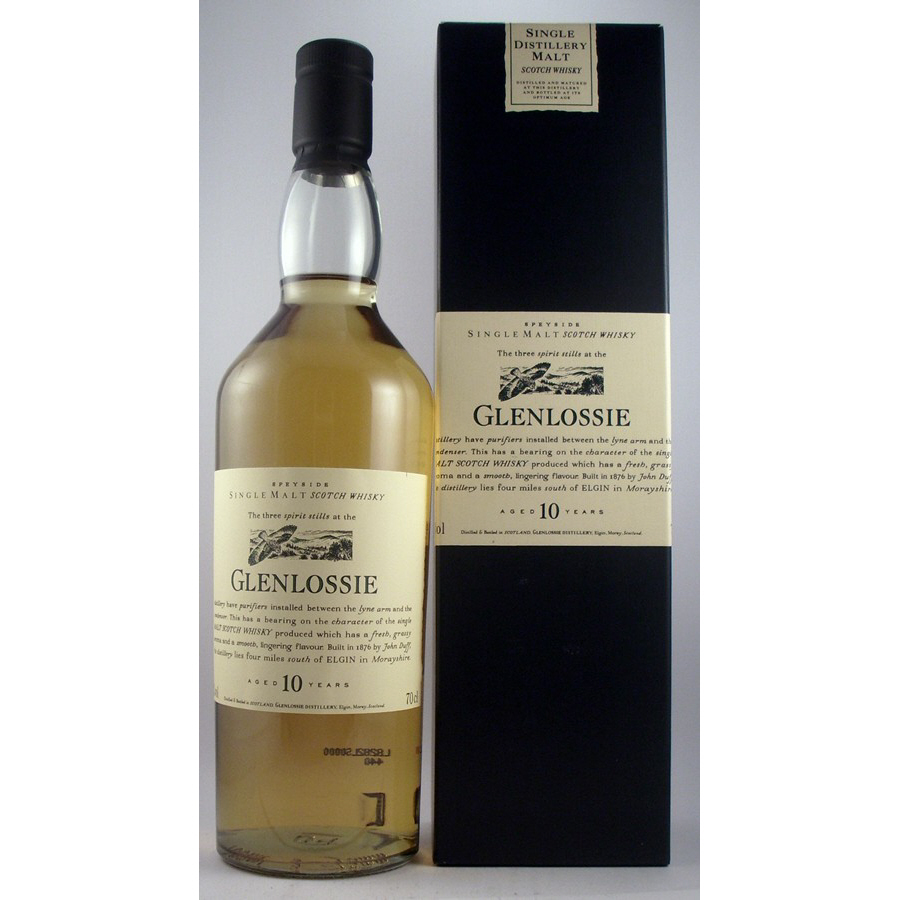 Glenlossie 10 year old Flora & Fauna Malt Whisky available to buy online from specialist whisky shop whiskys.co.uk Stamford Bridge York