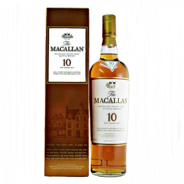 Macallan-10-Sherry-Oak whisky