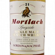 Mortlach Single Malt Whisky 21 year old