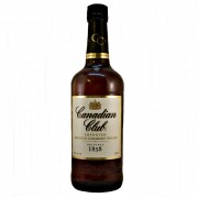 Canadian Club Blended Whisky almond nuttiness, hint of peppery spice available to buy online at Specialist whisky shop whiskys.co.uk Stamford bridge York