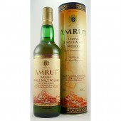 Amrut Indian Single Malt Whisky made from select Indian Barley grown at the feet of Himalayas Buy online whiskys.co.uk Stamford Bridge York