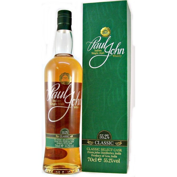Paul John Classic Select Indian Single Malt Whisky