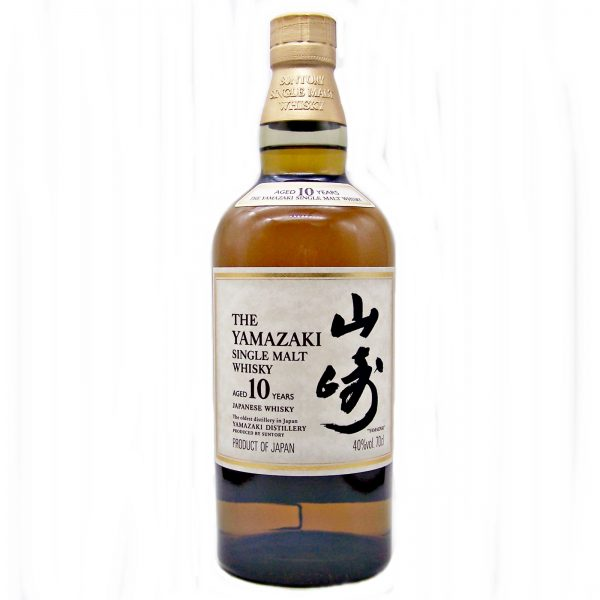 Yamazaki 10 year old Japanese Single Malt Whisky