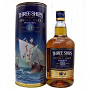Three Ships 10 year old Single Malt South African Whisky at whiskys.co.uk