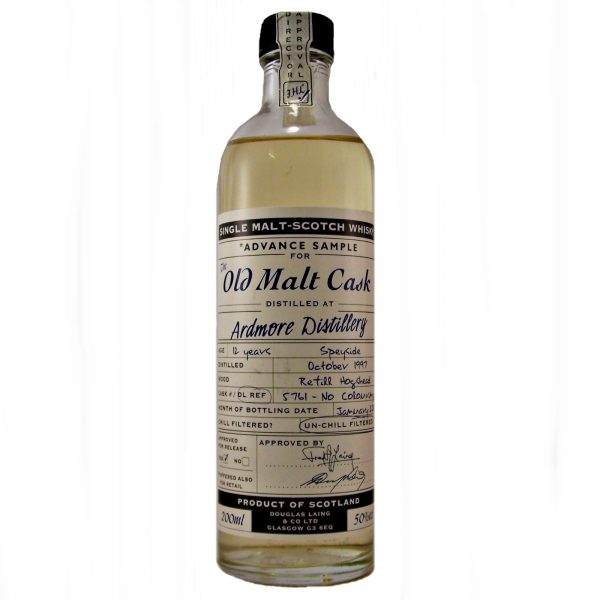 Ardmore Advance Sample Old Malt Cask