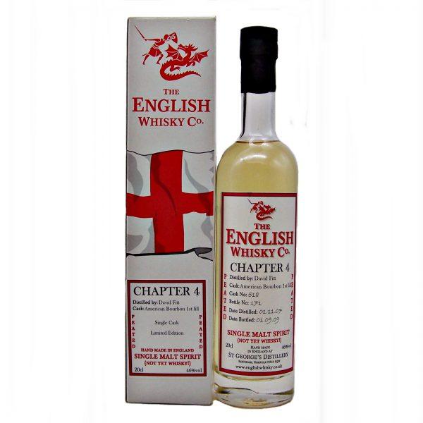 St George's Chapter 4 English Single Malt (Not Yet Whisky)