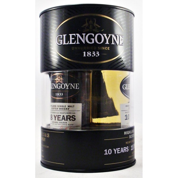 Glengoyne-whisky Triple gift set