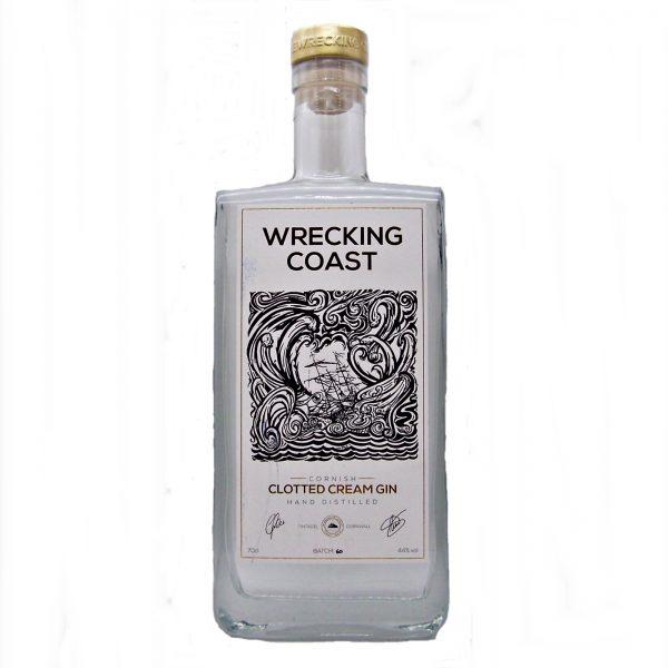 Wrecking Coast Cornish Clotted Cream Gin