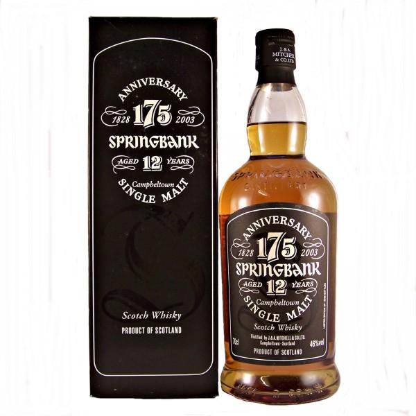 Springbank 175 Anniversary whisky
