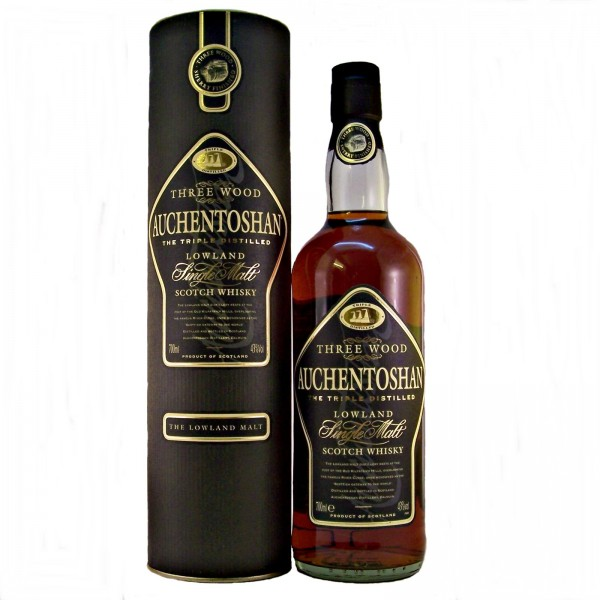 Auchentoshan Three Wood Malt Whisky