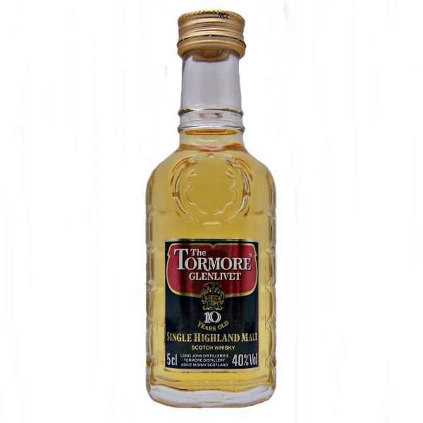 Tormore 10 year old Miniature Whisky