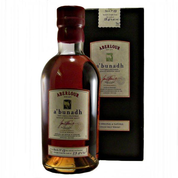 Aberlour abunadh Malt Whisky