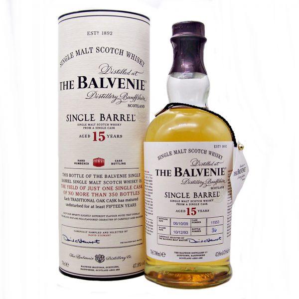 Balvenie 15 year old Single Barrel 1993