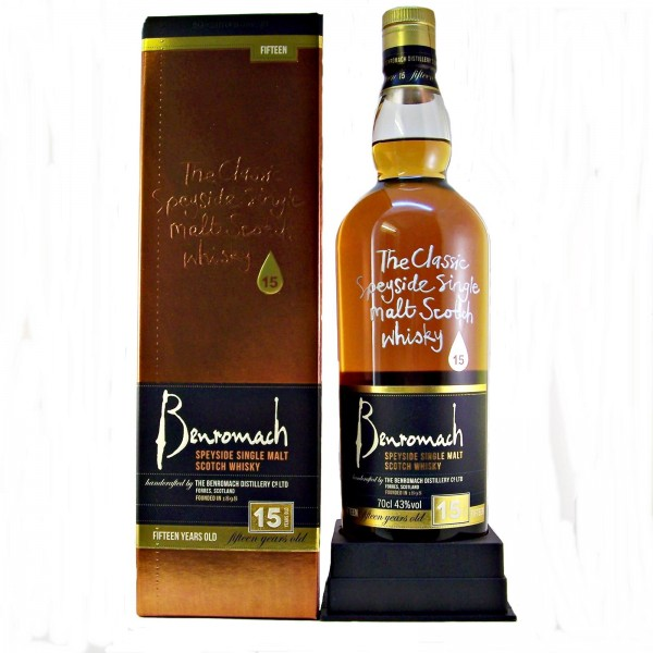 Benromach 15yo Malt Whisky