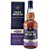 Glen Moray Port Cask Malt Whisky from whiskys.co.uk