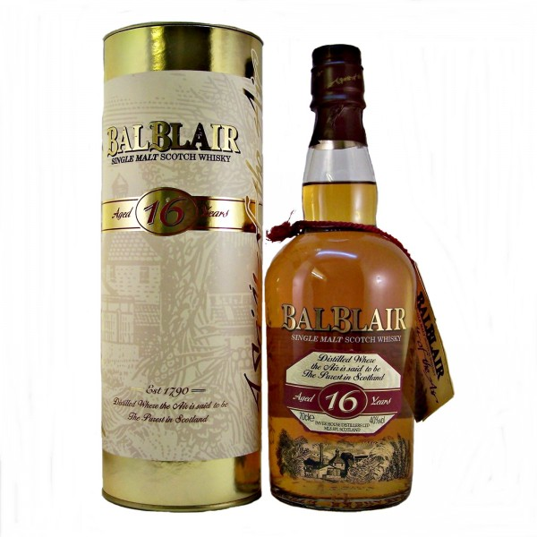 BalBlair 16 year old Malt Whisky