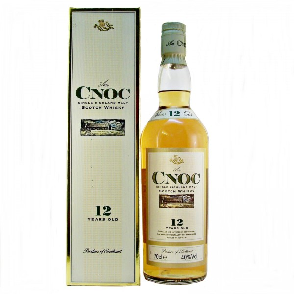 AnCnoc Single Malt Whisky 12 year old