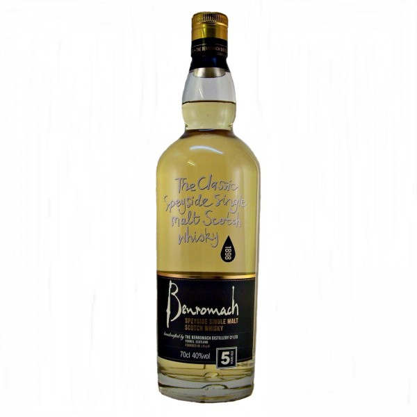Benromach 5 year old Single Malt Whisky