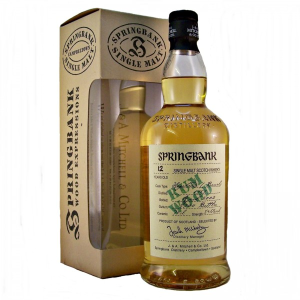 Springbank Rum Wood Malt Whisky