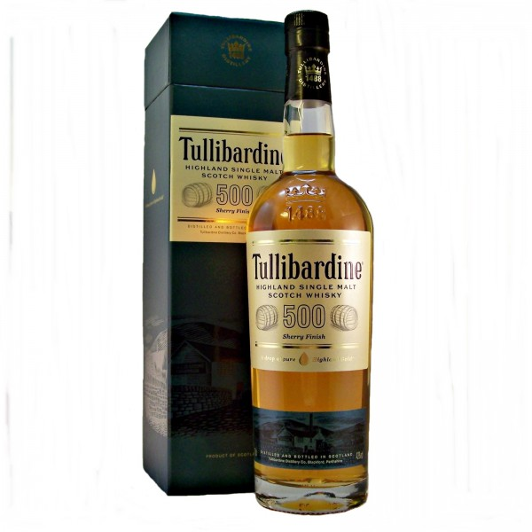 Tullibardine Malt Whisky  Sherry Finish  Malt Whisky