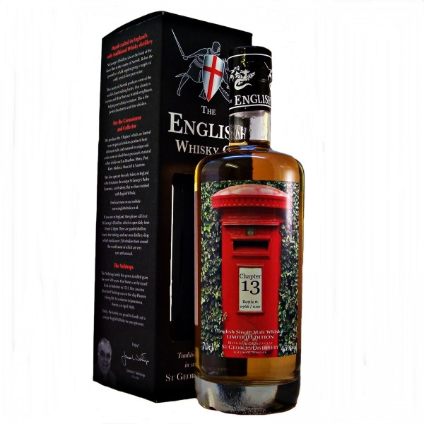 St Georges Chapter 13 English Malt Whisky